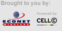 Powered by: CellC a& Econet Wireless